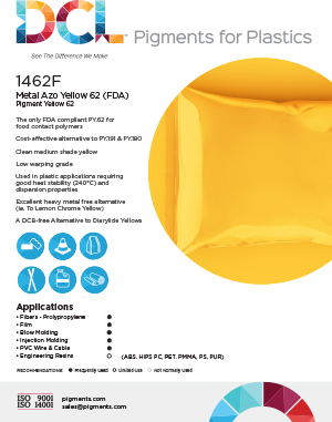 1462F Metal Azo Yellow 62 (FDA)